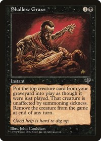 Shallow Grave, Magic: The Gathering, Mirage