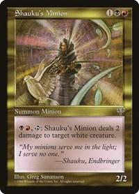 Shauku's Minion, Magic: The Gathering, Mirage