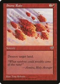 Stone Rain, Magic: The Gathering, Mirage