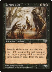 Zombie Mob, Magic: The Gathering, Mirage