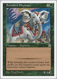 Southern Elephant, Magic, Portal Three Kingdoms