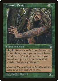 Hermit Druid, Magic: The Gathering, Stronghold