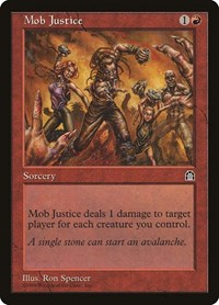 Mob Justice, Magic, Stronghold