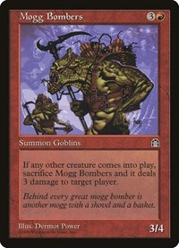 Mogg Bombers, Magic: The Gathering, Stronghold