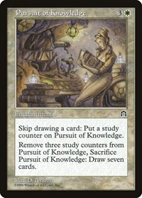 Pursuit of Knowledge, Magic: The Gathering, Stronghold
