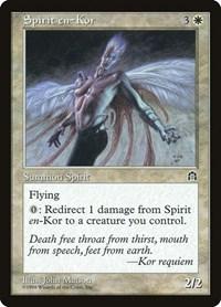 Spirit en-Kor, Magic, Stronghold