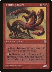 Spitting Hydra, Magic, Stronghold