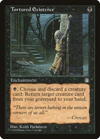 Tortured Existence, Magic: The Gathering, Stronghold