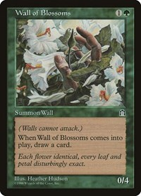 Wall of Blossoms, Magic: The Gathering, Stronghold