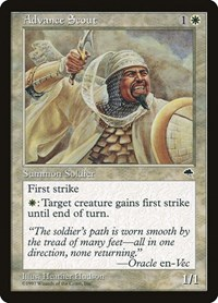 Advance Scout, Magic: The Gathering, Tempest