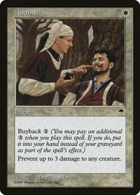 Anoint, Magic: The Gathering, Tempest
