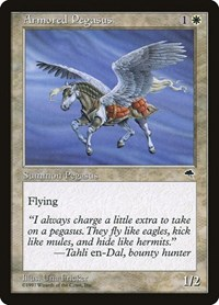 Armored Pegasus, Magic, Tempest