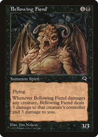 Bellowing Fiend, Magic: The Gathering, Tempest