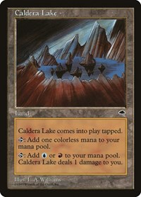Caldera Lake, Magic: The Gathering, Tempest