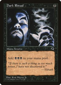 Dark Ritual, Magic: The Gathering, Tempest