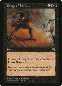 Dregs of Sorrow, Magic: The Gathering, Tempest