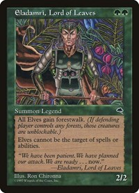 Eladamri, Lord of Leaves, Magic: The Gathering, Tempest