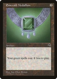 Emerald Medallion, Magic: The Gathering, Tempest