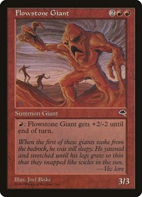 Flowstone Giant, Magic: The Gathering, Tempest