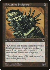 Flowstone Sculpture, Magic: The Gathering, Tempest