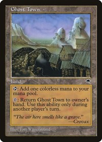 Ghost Town, Magic: The Gathering, Tempest