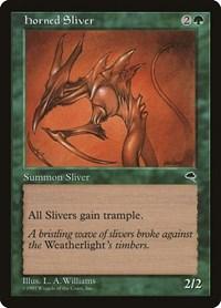 Horned Sliver, Magic: The Gathering, Tempest