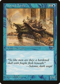 Horned Turtle, Magic: The Gathering, Tempest
