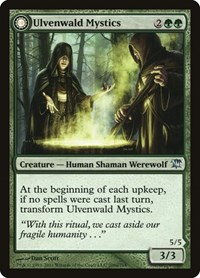 Ulvenwald Mystics, Magic: The Gathering, Innistrad