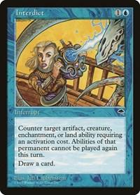 Interdict, Magic: The Gathering, Tempest