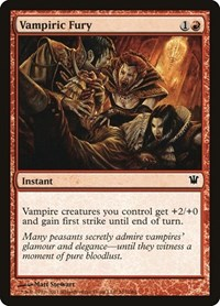 Vampiric Fury, Magic: The Gathering, Innistrad