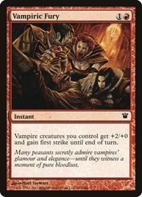 Vampiric Fury, Magic: The Gathering, Innistrad