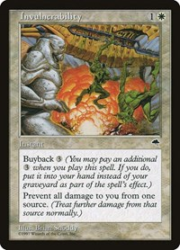 Invulnerability, Magic: The Gathering, Tempest