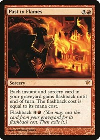Past in Flames, Magic, Innistrad