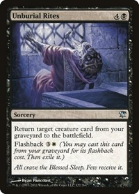 Unburial Rites, Magic: The Gathering, Innistrad