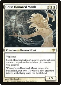 Geist-Honored Monk, Magic: The Gathering, Innistrad