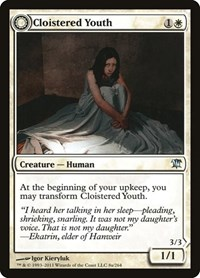 Cloistered Youth, Magic: The Gathering, Innistrad