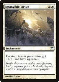 Intangible Virtue, Magic: The Gathering, Innistrad