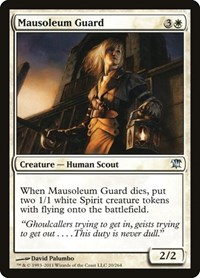 Mausoleum Guard, Magic: The Gathering, Innistrad
