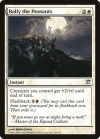 Rally the Peasants, Magic: The Gathering, Innistrad