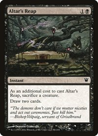 Altar's Reap, Magic: The Gathering, Innistrad