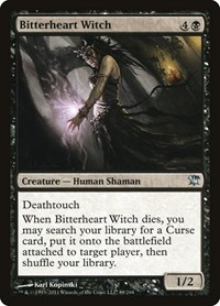 Bitterheart Witch, Magic, Innistrad