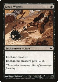 Dead Weight, Magic: The Gathering, Innistrad