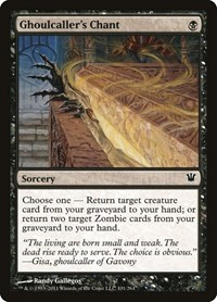Ghoulcaller's Chant, Magic, Innistrad