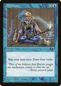 Meditate, Magic: The Gathering, Tempest