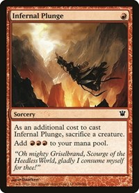 Infernal Plunge, Magic: The Gathering, Innistrad