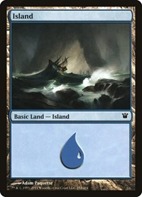 Island (254), Magic: The Gathering, Innistrad