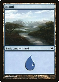 Island (255), Magic: The Gathering, Innistrad