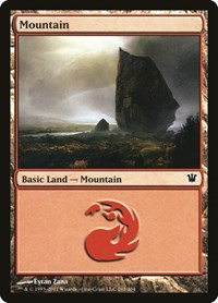 Mountain (261), Magic: The Gathering, Innistrad