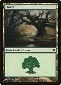 Forest (264), Magic, Innistrad