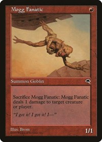 Mogg Fanatic, Magic: The Gathering, Tempest